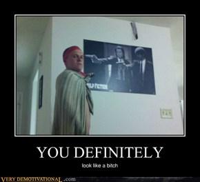 YOU DEFINITELY
