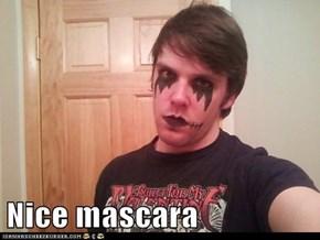 Nice mascara