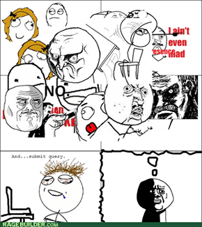 I Was Gonna Make a Funny Rage Comic, But Then I Got High
