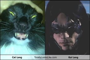 Cat Leng Totally Looks Like Kai Leng