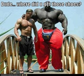 Dude... where did u get those shoes?