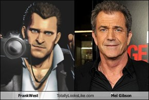 Frank West Totally Looks Like Mel Gibson