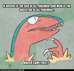 The Arceus or the Mew?