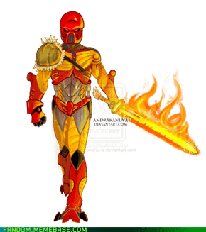 Tahu, Toa of Fire