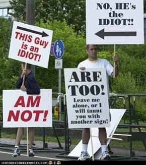 BOTH r idiots