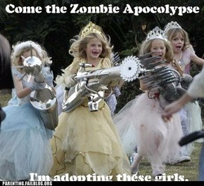 Zombie Apocolypse Princess Force Attack!