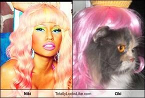 Niki  Totally Looks Like Ciki