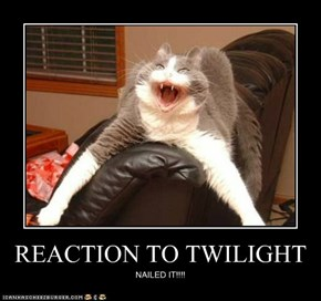 REACTION TO TWILIGHT