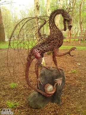 Dragon Sculpture WIN