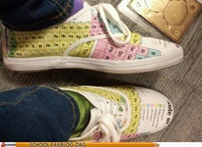 That's One Way to Cheat on Your Chemistry Test