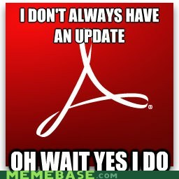 Yo Dawg, There's an Update for Adobe Updater