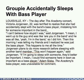 Music FAILS: At Least It Wasn't the Drummer