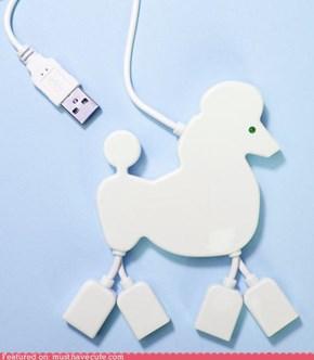Fancy Poodle USB Hub