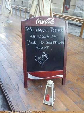 Frozen Beer, You Say?