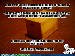 Video Game Life Lesson