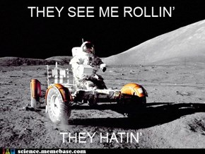 Ridin' on the Moon