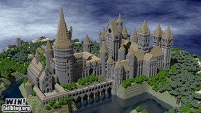 Minecraft Hogwarts WIN