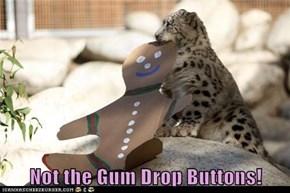 Not the Gum Drop Buttons!