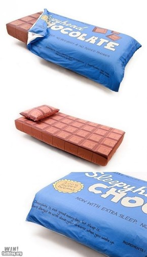 WIN!: Chocolate Bed WIN