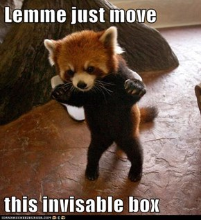 Lemme just move  this invisable box