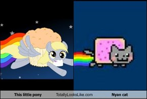 This little pony Totally Looks Like Nyan cat