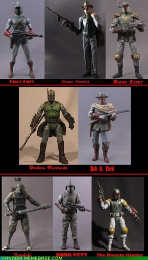 Boba Fett thru the ages