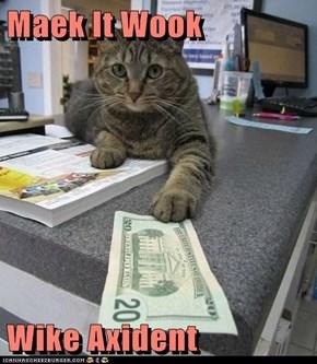 Maek It Wook  Wike Axident