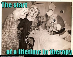 The start  of a lifetime in therapy
