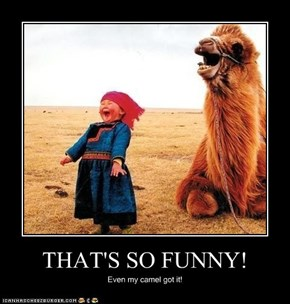THAT'S SO FUNNY!
