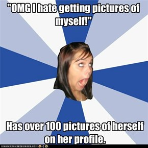 Annoying FaceBook Girl: Isn't that different?!