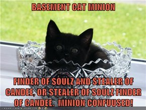 BASEMENT CAT MINION
