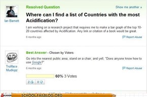 Why Use Google When You Have Yahoo! Answers