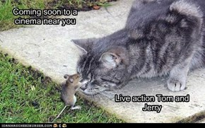 Live action Tom and Jerry