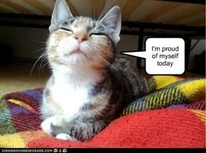 I'm proud