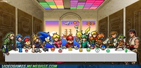 The Last Supper Of The Video Games