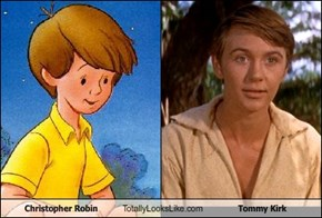 Christopher Robin Totally Looks Like Tommy Kirk