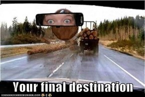 Your final destination