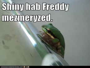 Shiny hab Freddy mezmeryzed.