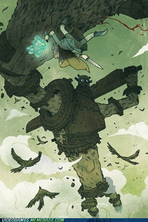 Shadow Of The Colossus fanart