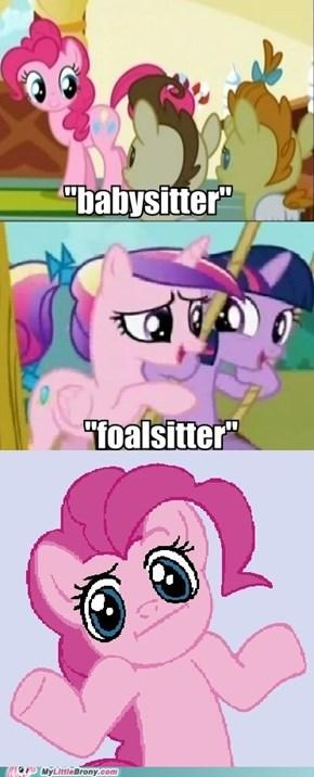 Babysitter vs Foalsitter