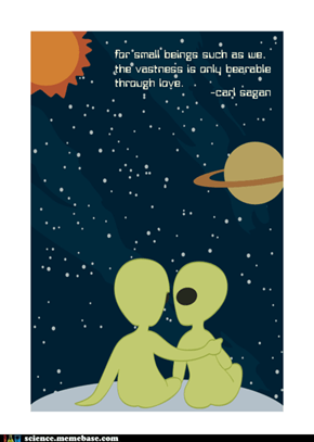 Sagan's Cosmic Love