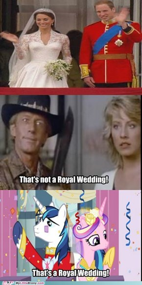 Call that a Royal Wedding?