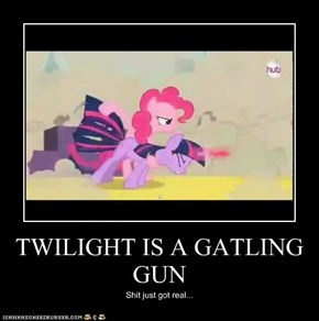 TWILIGHT IS A GATLING GUN