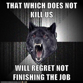 Animal Memes: Insanity Wolf - Our Rage is Stronger