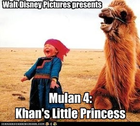 Mulan 4: Khan's Little Princess