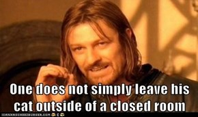 One does not sleep rested