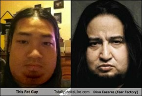 This Fat Guy Totally Looks Like Dino Cazares (Fear Factory)