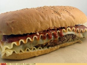 Lasagna Burger