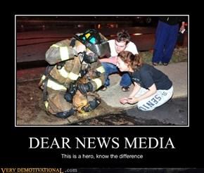 DEAR NEWS MEDIA