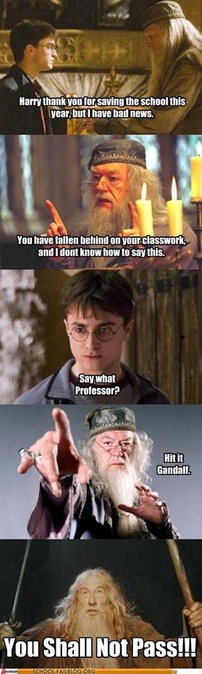 School of Fail: Bad News For Harry